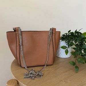 ZARA Crossbody Tan Handbag